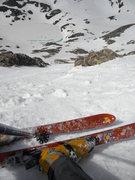 Rock Climbing Photo: Looking down CC ready to ski.