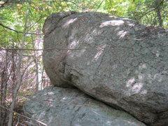 Rock Climbing Photo: as approaching the Penguin Boulder