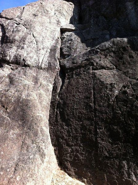 Rock Climbing Photo: Bottom of #2