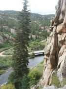 Rock Climbing Photo: South Platte river from the Icebox.