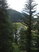 Rock Climbing Photo: The South Platte from the Icebox.  I love this Can...