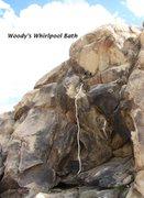 Rock Climbing Photo: Woody's Whirlpool Bath
