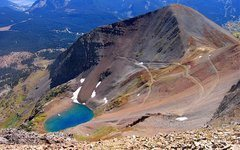 Rock Climbing Photo: Ruby Peak