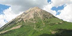 Rock Climbing Photo: Gothic Mtn.
