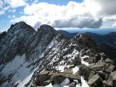 Rock Climbing Photo: The ridge looking towards Babcock.