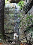 Rock Climbing Photo: Me on Springer 5.10b