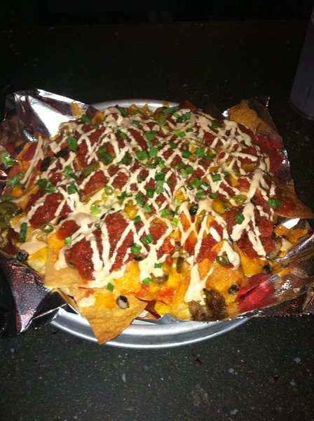 Best Nachos I've ever had at Pies and Pints. Totally worth it!