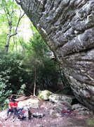 Rock Climbing Photo: DC Memorial Boulder