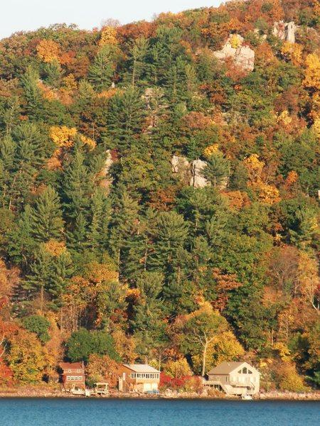 Rock Climbing Photo: Fall Glory