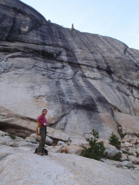 Rock Climbing Photo: Low Profile Dome, Golfer's Route