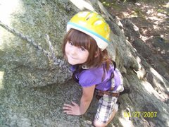 Rock Climbing Photo: The Slabs at Rimmon, the perfect beginners climb
