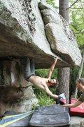Rock Climbing Photo: The antics on humid climbing days!
