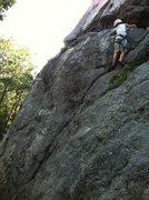 Rock Climbing Photo: Dead Skunk (5.8)