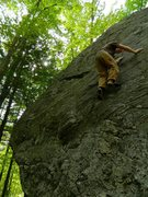 Rock Climbing Photo: On of The Pounds best boulder problems.  Photo: Re...