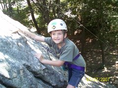 Rock Climbing Photo: Tippy Toe Slab