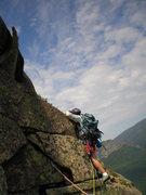 Rock Climbing Photo: Below the Finger of Fate
