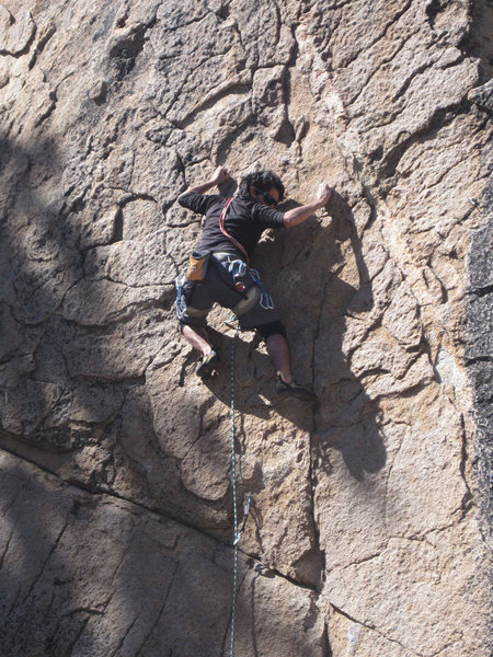 Rock Climbing Photo: Lluis Penalver Aguila leading.