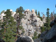 Rock Climbing Photo: Voodoo Garden, Holcomb Valey Pinnacles