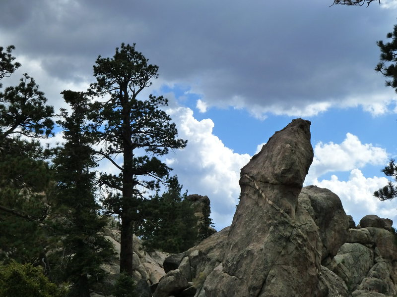 Wilbur's Tombstone, Holcomb Valley Pinnacles