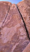 Rock Climbing Photo: Right Sawdust Crack