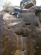 Rock Climbing Photo: E Gilbert on SEIGE