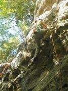 Rock Climbing Photo: watering hole, 5.10a
