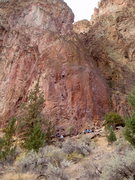 Rock Climbing Photo: The Phoenix Buttress, Smith Rock Group