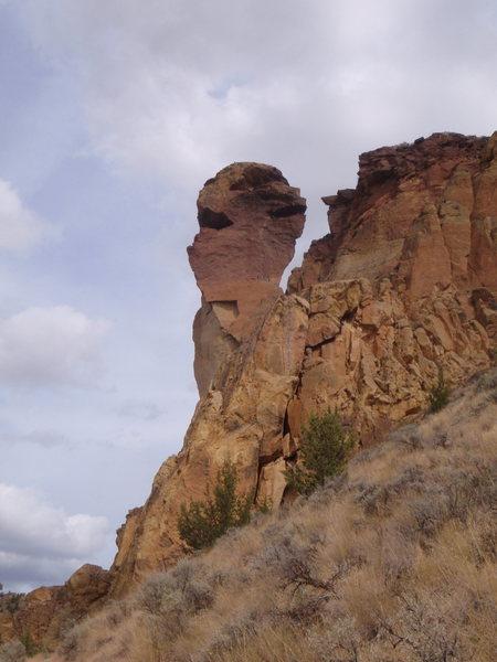 Monkey Face, Smith Rocks