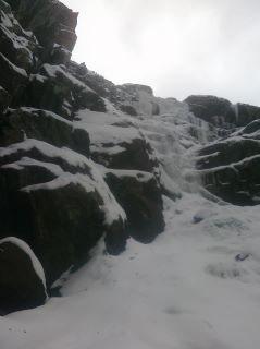 Rock Climbing Photo: 2nd pitch.