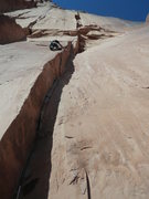 Rock Climbing Photo: After looking at the photo, no doubt long draws ne...