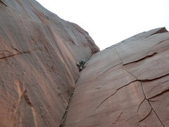 Rock Climbing Photo: This route was spectacular, perfectly sharp edges,...