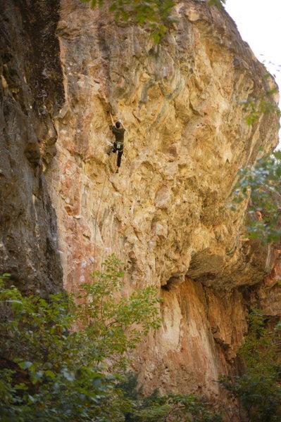 Rock Climbing Photo: ben?