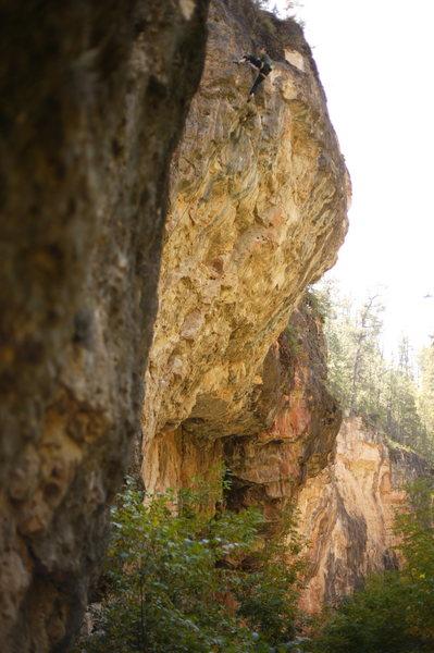 Rock Climbing Photo: the topper of luvulongtime