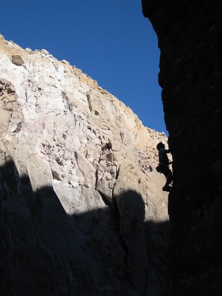 Rock Climbing Photo: this is one of the best aretes ive ever pulled