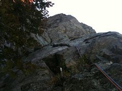 Rock Climbing Photo: Little Corner P1