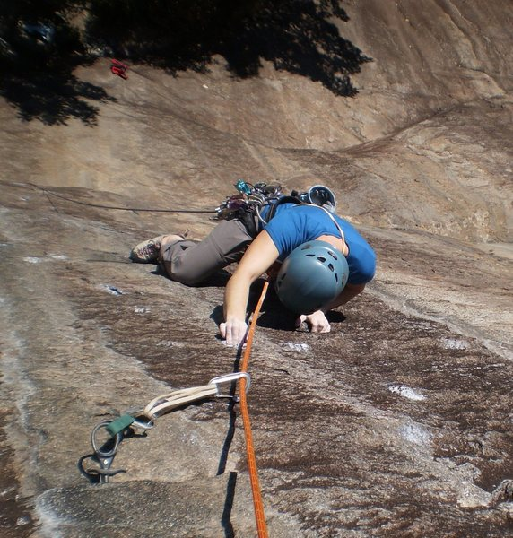 Rock Climbing Photo: The characteristic thin edges that make up the dif...