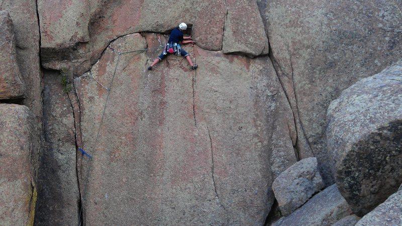 Rock Climbing Photo: circle
