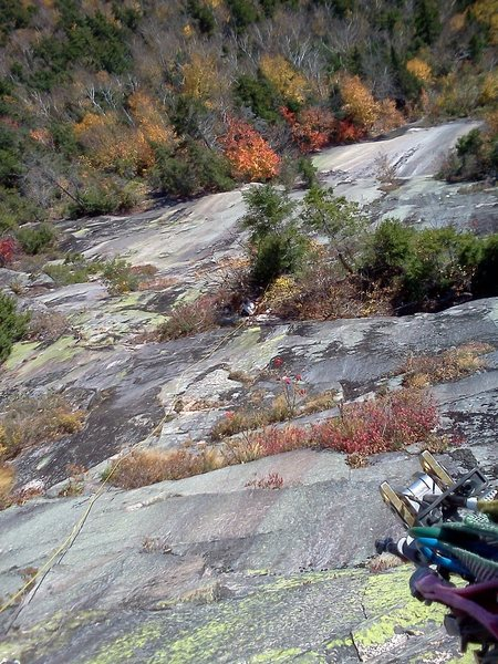 Rock Climbing Photo: Me climbing up the third pitch (the money pitch of...