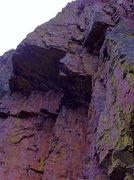 Rock Climbing Photo: DAS on the FA.
