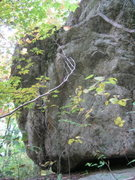 Rock Climbing Photo:  as approach from downstream.