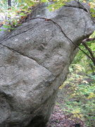Rock Climbing Photo: side view showing climbing angle.