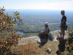 Rock Climbing Photo: Top of High Exposure