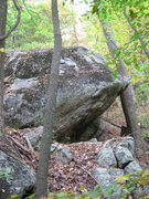upper reaches of October Boulder