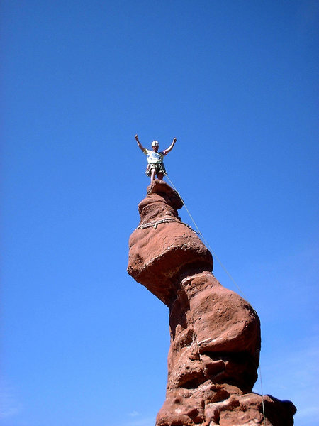 Rock Climbing Photo: What a great summit!