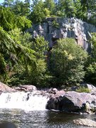 Rock Climbing Photo: The Swimming hole at the entrance of Eagle Falls C...