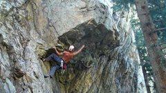 Rock Climbing Photo: huh