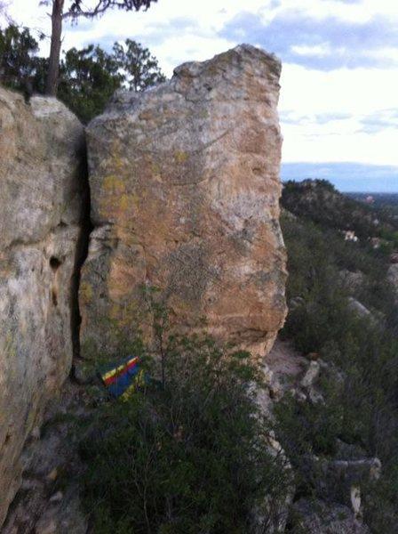 Rock Climbing Photo: Anyone have beta on this?
