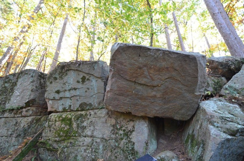 Rock Climbing Photo: Cube boulder