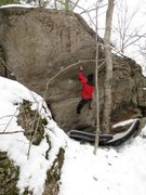 Rock Climbing Photo: Nice winter zone