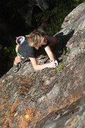 Rock Climbing Photo: lily on Orange sunshine before linking to Purple M...